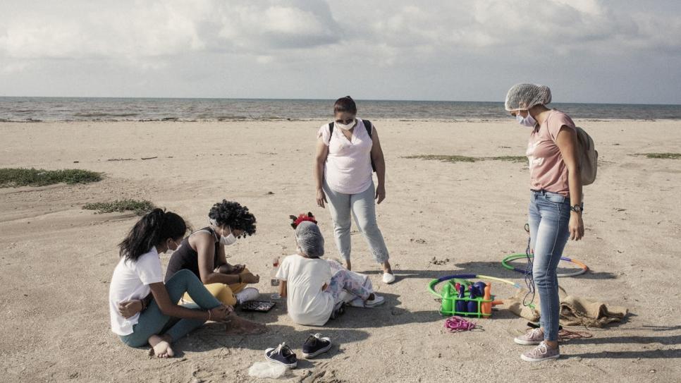 Una parte fundamental de la misión de Maye es ayudar a las niñas y niños sobrevivientes de explotación sexual a volver a vivir su niñez.