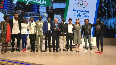 Argentina. 2016 Olympic Refugee Team reunites in Buenos Aires