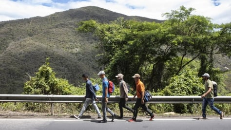 Colombia. Venezuelans continue to make perilous journeys in search of refuge